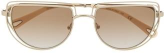 Chloé Eyewear D-frame sunglasses