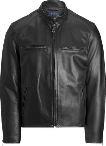 Ralph Lauren Leather Cafe Racer Jacket