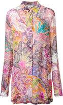 Etro paisley print shirt - women - Viscose - 42