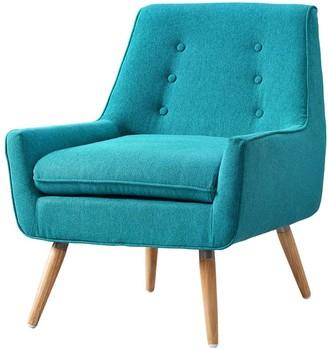 Linon Arlo Bright Blue Chair