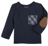 Andy & Evan Infant Boy's Plaid Pocket T-Shirt