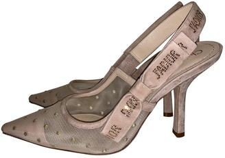 Christian Dior J'adior Beige Cloth Heels