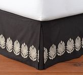 Pottery Barn Camilla Embroidered Bed Skirt
