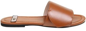 N°21 N 21 Leather Color Sandal