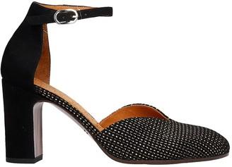 Chie Mihara E-dari37 Sandals In Black Leather