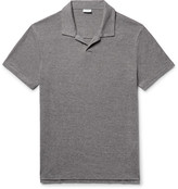 Onia Shaun Slim-Fit Linen-Blend Polo Shirt