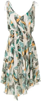 Clube Bossa Bacarole printed dress