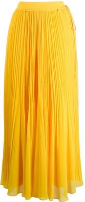 Irina Schrotter Pleated Maxi Skirt