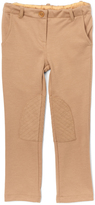 E-Land Kids Soft Sand Leg-Patch Jodhpurs - Toddler & Girls