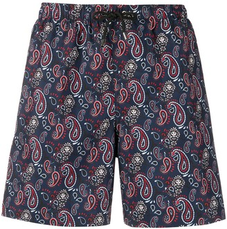 Zadig & Voltaire Paisley-Print Swim Shorts