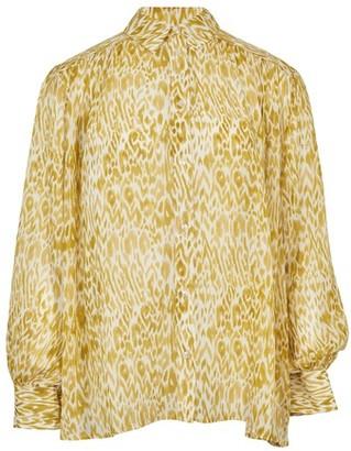 Anine Bing Caleb silk shirt