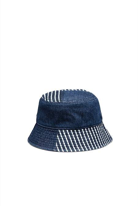Country Road Stripe Bucket Hat
