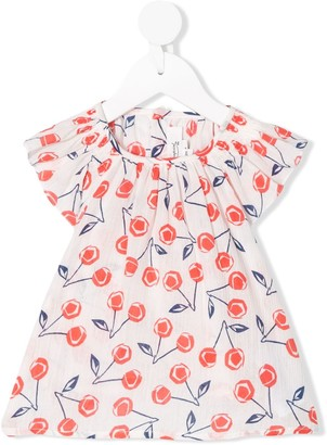Bonpoint Cherry Print Blouse