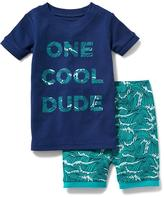 Old Navy 2-Piece Graphic Sleep Set for Toddler & Baby