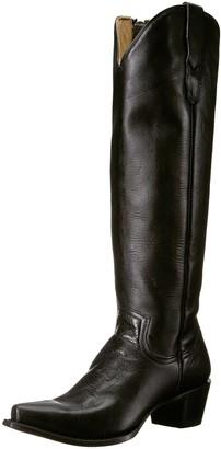 Stetson Women's Class Western Boot Black 6 Medium US