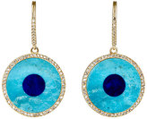 Jennifer Meyer Women's Evil Eye Drop Earrings