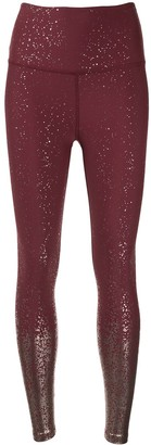 Beyond Yoga High Waisted Alloy Ombre Midi leggings