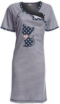 Happy Mama Boutique Happy Mama. Womens Maternity Hospital Gown Nightie for Labour & Birth. 891p (, US 10/12, 2XL)