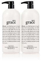 philosophy Super-Size Pure Grace Lotion 32 Oz. Duo
