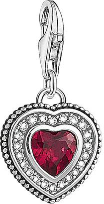 Thomas Sabo Charm Club sterling silver vintage heart charm