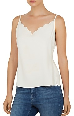 Ted Baker Siina Scalloped Camisole Top