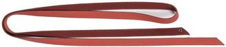 Agnona Double Wrap Cashmere-Blend Belt, Red