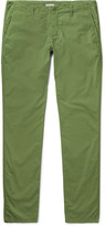 Tomas Maier - Riviera Slim-fit Cotton Trousers