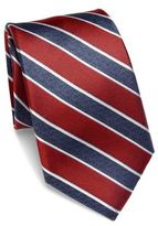 Saks Fifth Avenue COLLECTION Striped Silk Tie