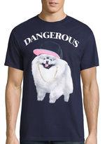 NOVELTY PROMOTIONAL Dangerous Pup Graphic T-Shirt