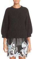 3.1 Phillip Lim Rib Knit Wool Blend Sweater