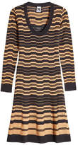 M Missoni Knit Dress with Wool and Cotton