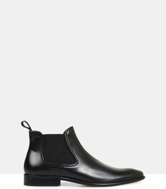 Brando Larson Leather Chelsea Boots
