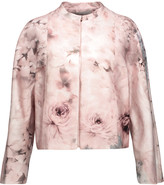 Valentino Printed cotton and silk-blend jacket