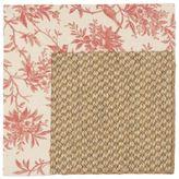 Custom Fabric Border Sisal Rugs -Pattern