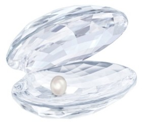 Swarovski Shell with Pearl Figurine