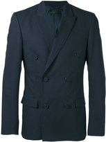 Calvin Klein Collection double breasted blazer - men - Cotton/Cupro - 48