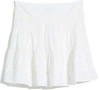 Madewell Pintuck Miniskirt
