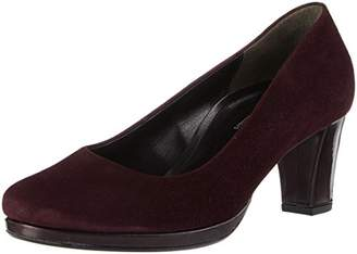 Gabor Women's Comfort Fashion Closed Toe Heels, Red New Merlot 48