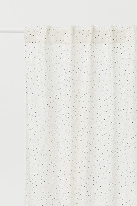 H&M Patterned Curtain Panel
