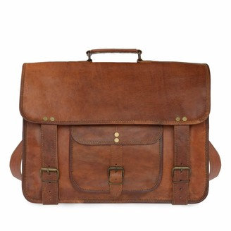 Vida Vida Vida Vintage Special Handmade Leather Laptop Bag