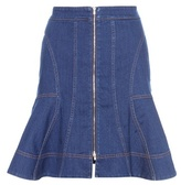 Stella McCartney Ruffled Denim Skirt