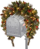 Crestwood National Tree Company 36 in. Artificial Spruce Mailbox Garland