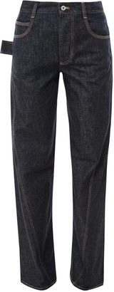 Bottega Veneta Slouchy Wide Leg Jeans