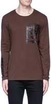 Den Im By Siki Im 'Ponyboy' print long sleeve T-shirt
