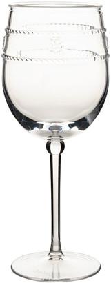 Juliska Isabella Acrylic Wine Glass