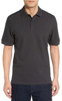 Nordstrom Men's Big & Tall Tipped Oxford Pique Polo