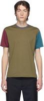 Comme des Garcons Homme Deux Homme Deux Multicolor Cotton Jersey T-Shirt