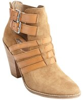 Dolce Vita cognac suede leather accent 'Caitlynn' ankle boots