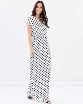 Dorothy Perkins Mono Bar Maxi Dress