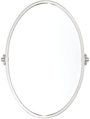 Rejuvenation Tolson Oval Pivot Mirror